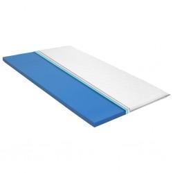 stradeXL Nakładka na materac, 140x200 cm, pianka memory visco, 6 cm