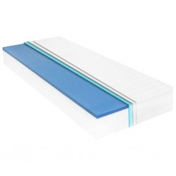 stradeXL Materac, 90x200 cm, pianka memory visco, 18 cm
