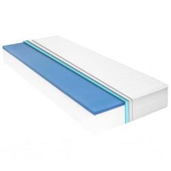 stradeXL Materac, 160x200 cm, pianka memory visco, 18 cm