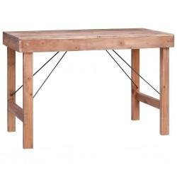 stradeXL Stół jadalniany, 120x60x80 cm, lite drewno z odzysku