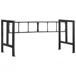 stradeXL Dining Table Legs 150x68x73 cm Cast Iron