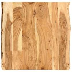 stradeXL Blat, lite drewno akacjowe, 60x(50-60)x2,5 cm