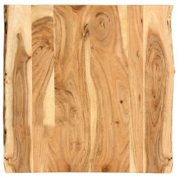stradeXL Table Top Solid Acacia Wood 60x60x2.5 cm