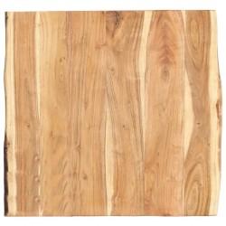 stradeXL Blat, lite drewno akacjowe, 60 x 60 x 3,8 cm