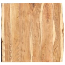 stradeXL Table Top Solid Acacia Wood 60x60x3.8 cm
