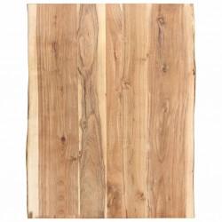 stradeXL Blat, lite drewno akacjowe, 80 x 60 x 3,8 cm