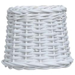 stradeXL Wiklinowy klosz, 15x12 cm, biały