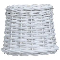 stradeXL Wiklinowy klosz, 20 x 15 cm, biały