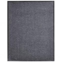 stradeXL Door Mat Grey 160x220 cm PVC