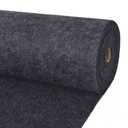 stradeXL Exhibition Carpet Rib 1.6x15 m Anthracite