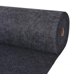 stradeXL Exhibition Carpet Rib 16x20 m Anthracite