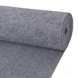 stradeXL Exhibition Carpet Rib 1.6x10 m Grey