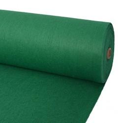 stradeXL Wykładzina targowa, gładka, 1,6x12 m, zielona