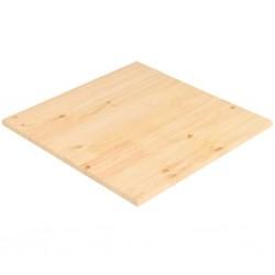 stradeXL Blat stołu, naturalna sosna, kwadratowy, 70x70x2,5 cm
