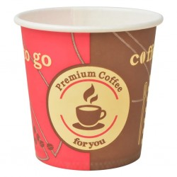 stradeXL Kubki jednorazowe, papierowe, na kawę 1000 szt., 120 ml (4 oz)