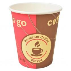stradeXL Kubki jednorazowe, papierowe, na kawę 1000 szt., 240 ml (8 oz)