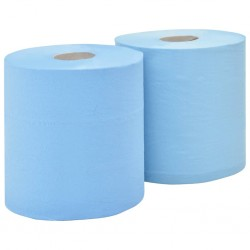 stradeXL 3-Ply Industrial Paper Wiper 2 Rolls 38 cm