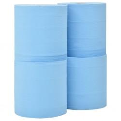 stradeXL 3-Ply Industrial Paper Wiper 4 Rolls 26 cm