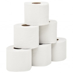 stradeXL 2-Ply Embossed Toilet Paper 128 Rolls 250 Sheets