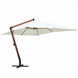 stradeXL Parasol 300 x 400 cm, biały