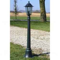 stradeXL Lampa ogrodowa Preston, 105 cm