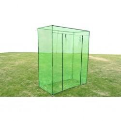 stradeXL Greenhouse Steel frame PVC