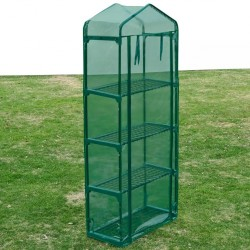 stradeXL Greenhouse with 4 Shelves