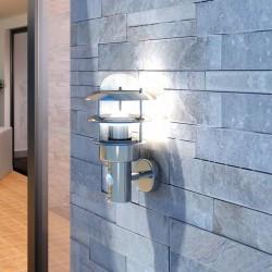 Ścienna lampa LED ze stali nierdzewnej