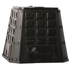 Nature Compost Bin Black 400 L 6071480