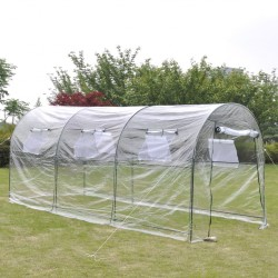 stradeXL Outdoor Greenhouse Large Portable Gardening Plant Hot House