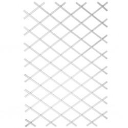 Nature Ogrodowa krata do pnączy, 100x200 cm, PVC, biała, 6040703