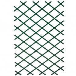 Nature Garden Trellis 100x200 cm PVC Green 6040704