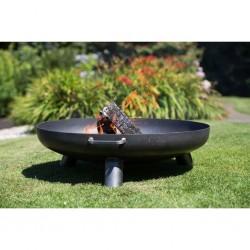 RedFire Palenisko ogrodowe Salo, czarna stal, 80 cm, 81020