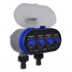 stradeXL Automatyczny, elektroniczny sterownik nawadniania, 2 wyloty