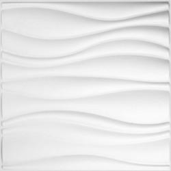 WallArt Panele ścienne 3D Waves, 12 szt., GA-WA04