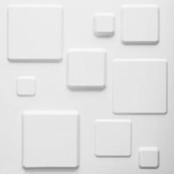 WallArt 3D Wall Panels Squares 12 pcs GA-WA09