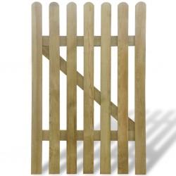 stradeXL Bramka ogrodowa, drewno, 100 x 150 cm