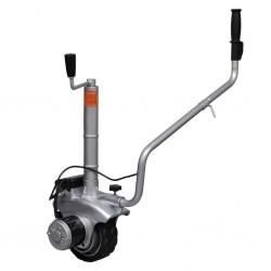 Aluminiowe koło podporowe/manewrowe do przyczepy 12 V 350 W