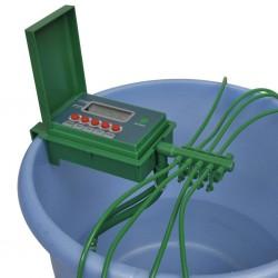 stradeXL Automatyczny system nawadniania ze zraszaczem i zegarem