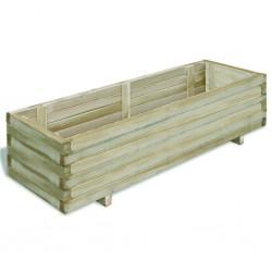 stradeXL Raised Bed 120x40x30 cm Wood Rectangular