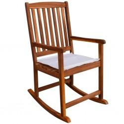 stradeXL Ogrodowy fotel bujany, drewno akacjowe