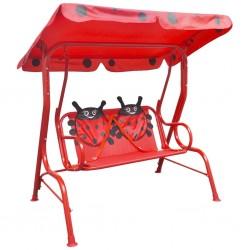 stradeXL Kids Swing Seat Red