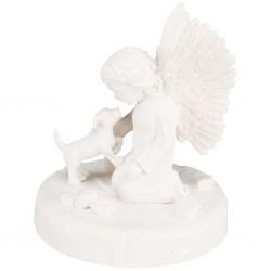 TRIXIE Nagrobek dla psa, pies i anioł, biały, 38418