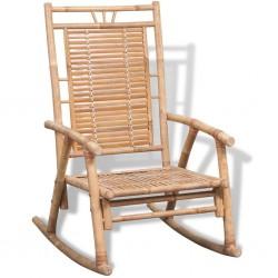 stradeXL Fotel bujany, bambus