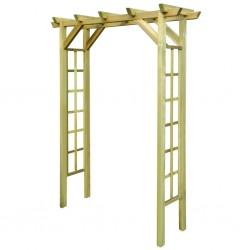 stradeXL Arbour / Rose Arch 150x50x200 cm Impregnated Wood