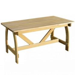 stradeXL Stół ogrodowy, 150x74x75 cm, impregnowane drewno sosnowe