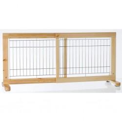TRIXIE Bariera dla psa, bramka, drewno sosnowe, 65-108 cm, 3944