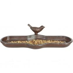 Esschert Design Poidło dla ptaków, brązowe, żeliwne, BR25