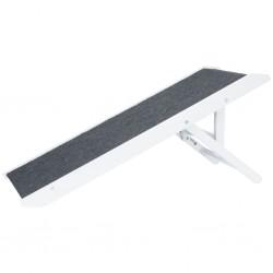 TRIXIE Regulowana rampa dla zwierząt, 36 x 90 cm, MDF, biała, 39375
