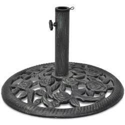 stradeXL Umbrella Base Cast Iron 12 kg 48 cm